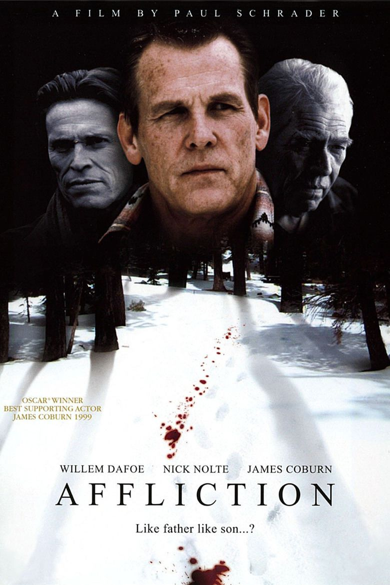 Affliction (film) movie poster
