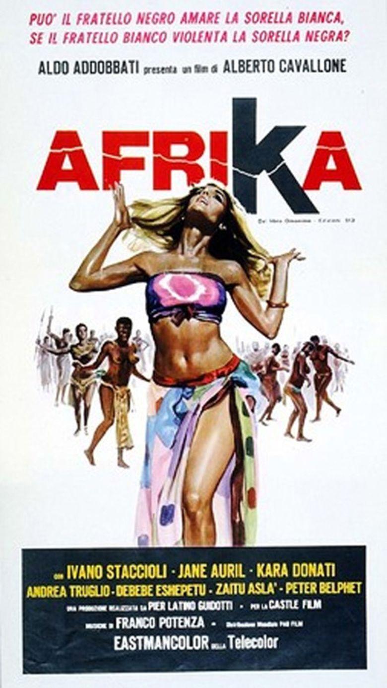 Afrika (film) movie poster