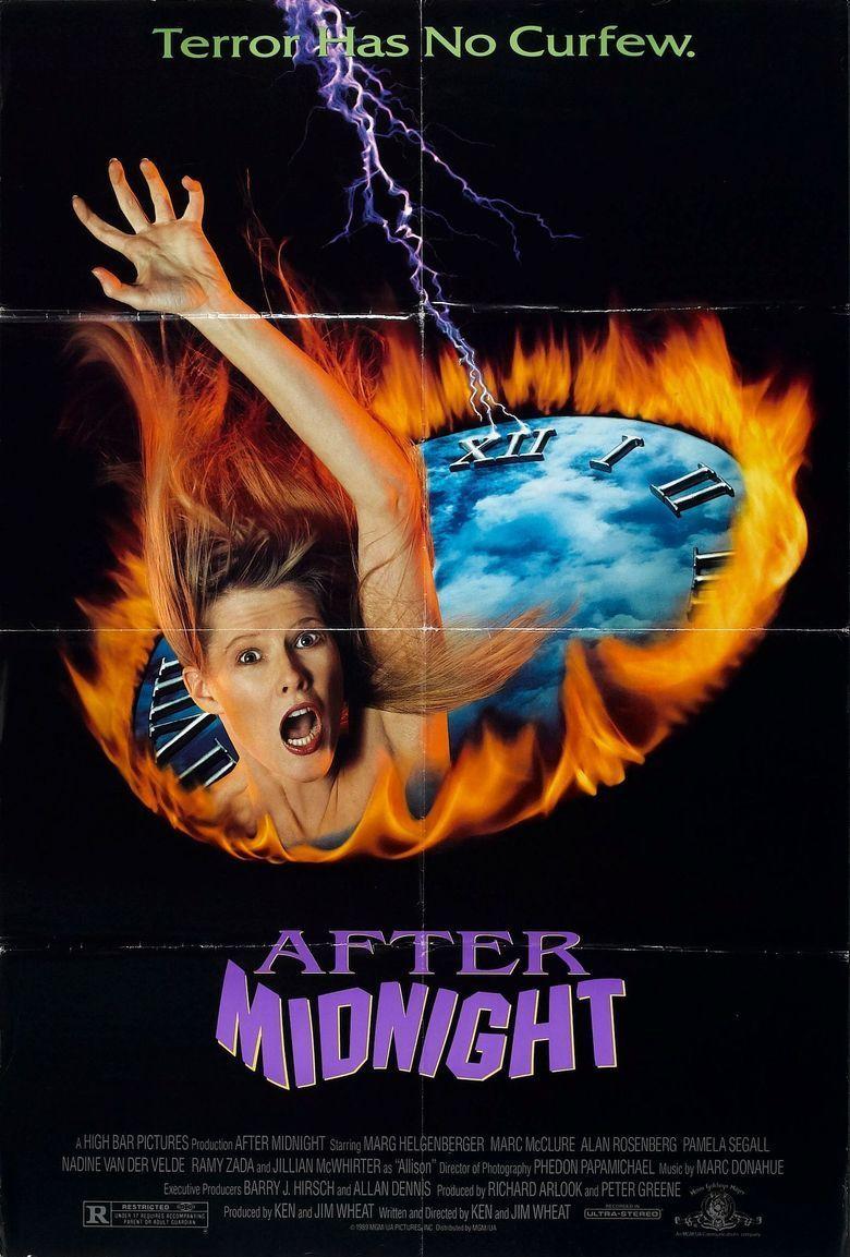 After Midnight (1989 film) movie poster