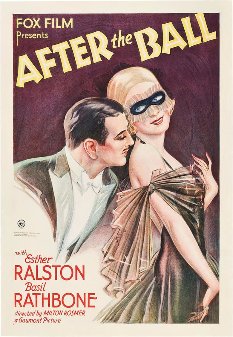 After the Ball (1932 film) movie poster