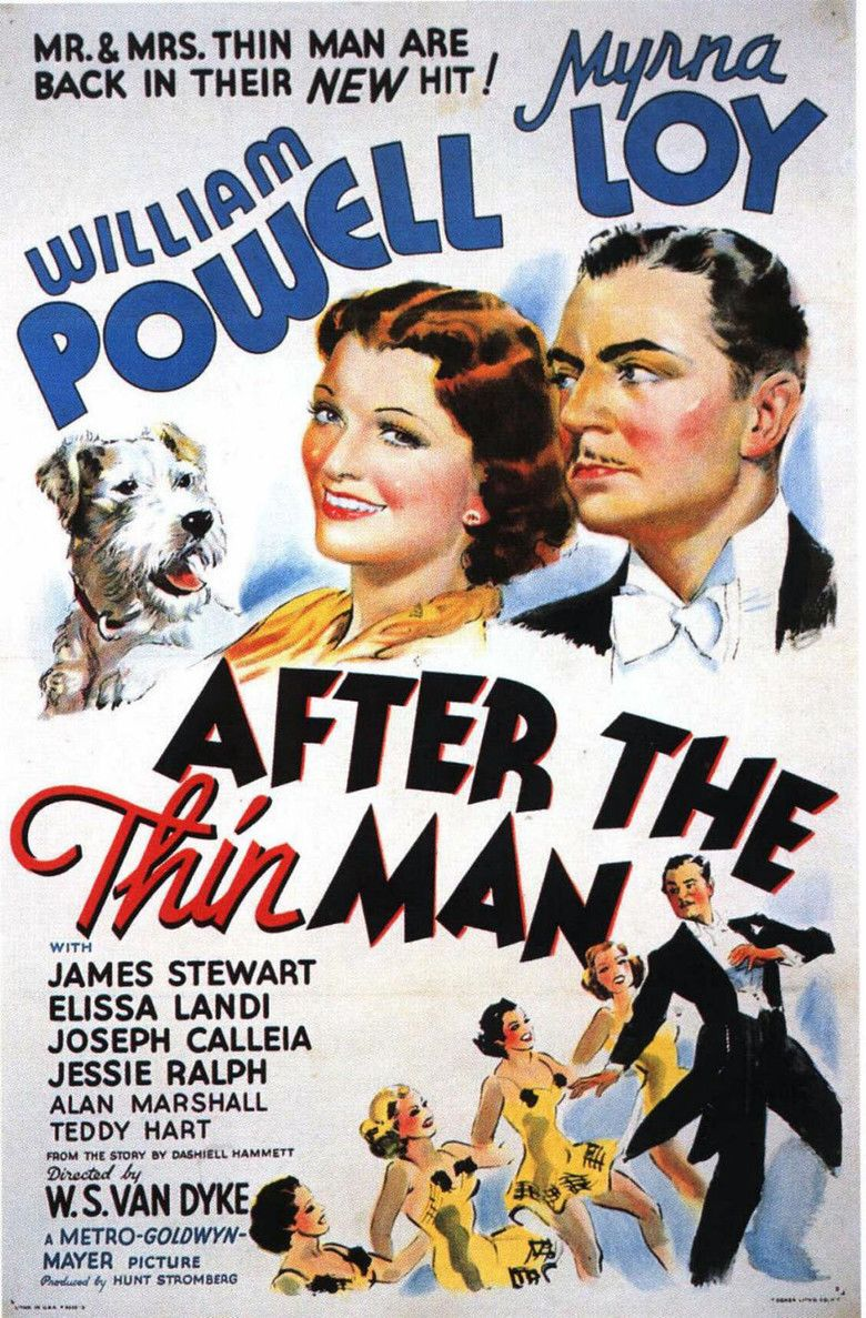 After the Thin Man movie poster