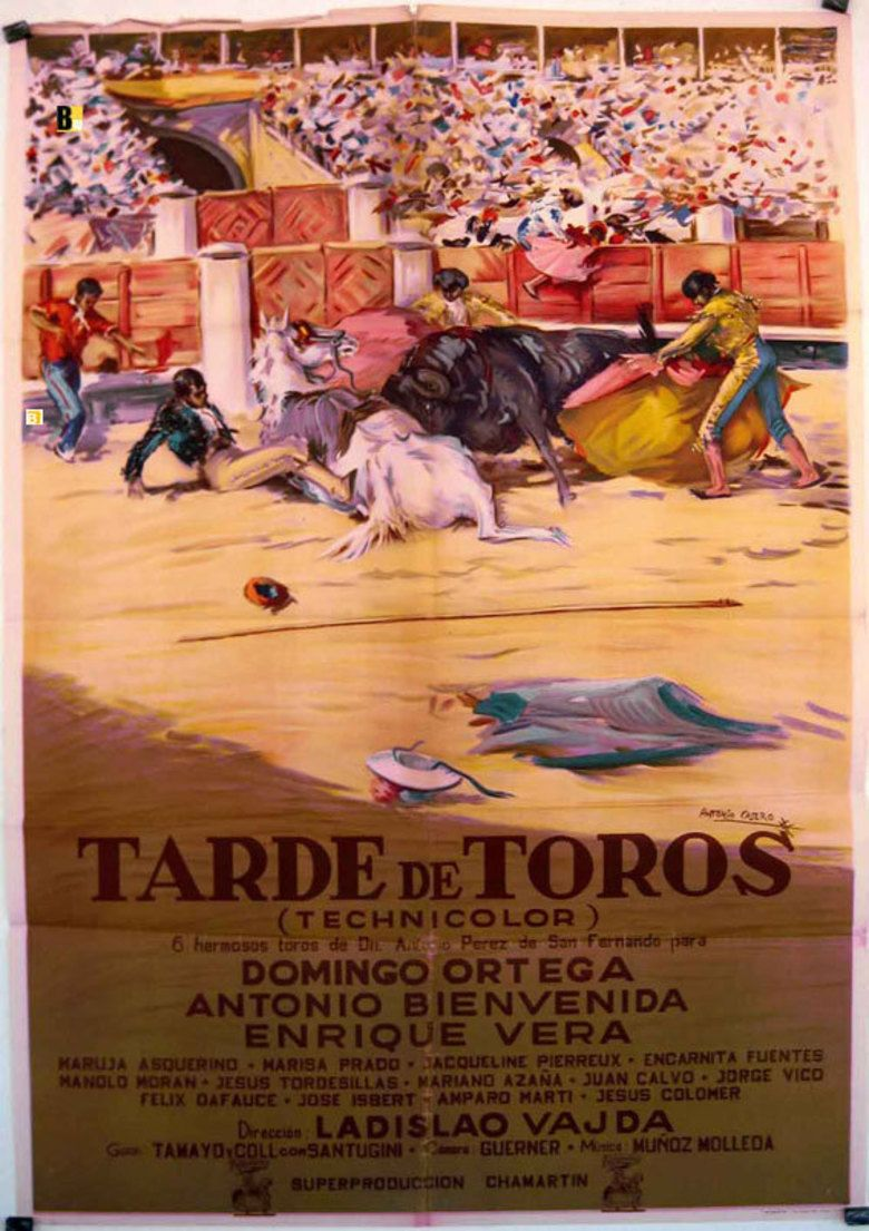 Afternoon of the Bulls movie poster