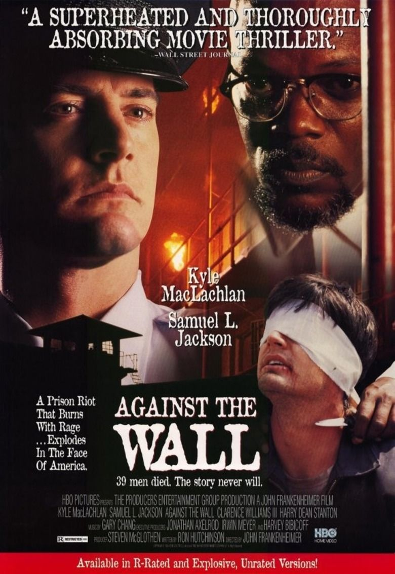 Against the Wall (1994 film) movie poster