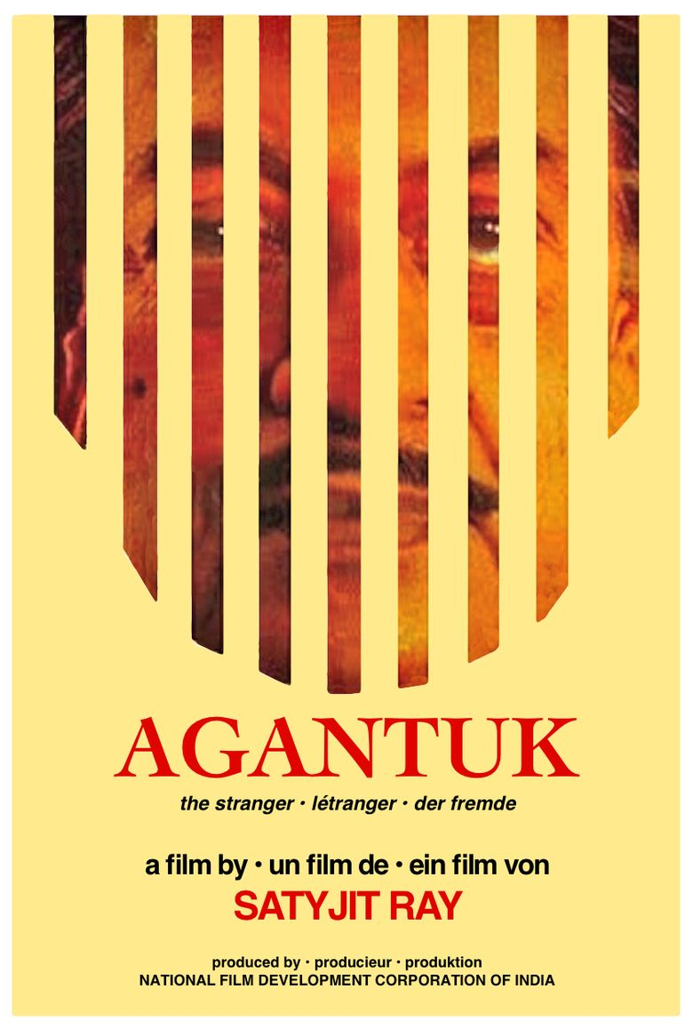 Agantuk movie poster