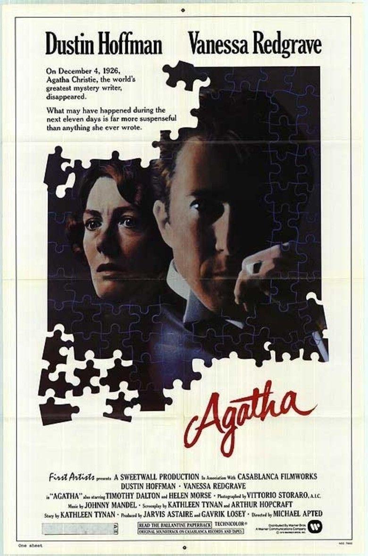 Agatha (film) movie poster