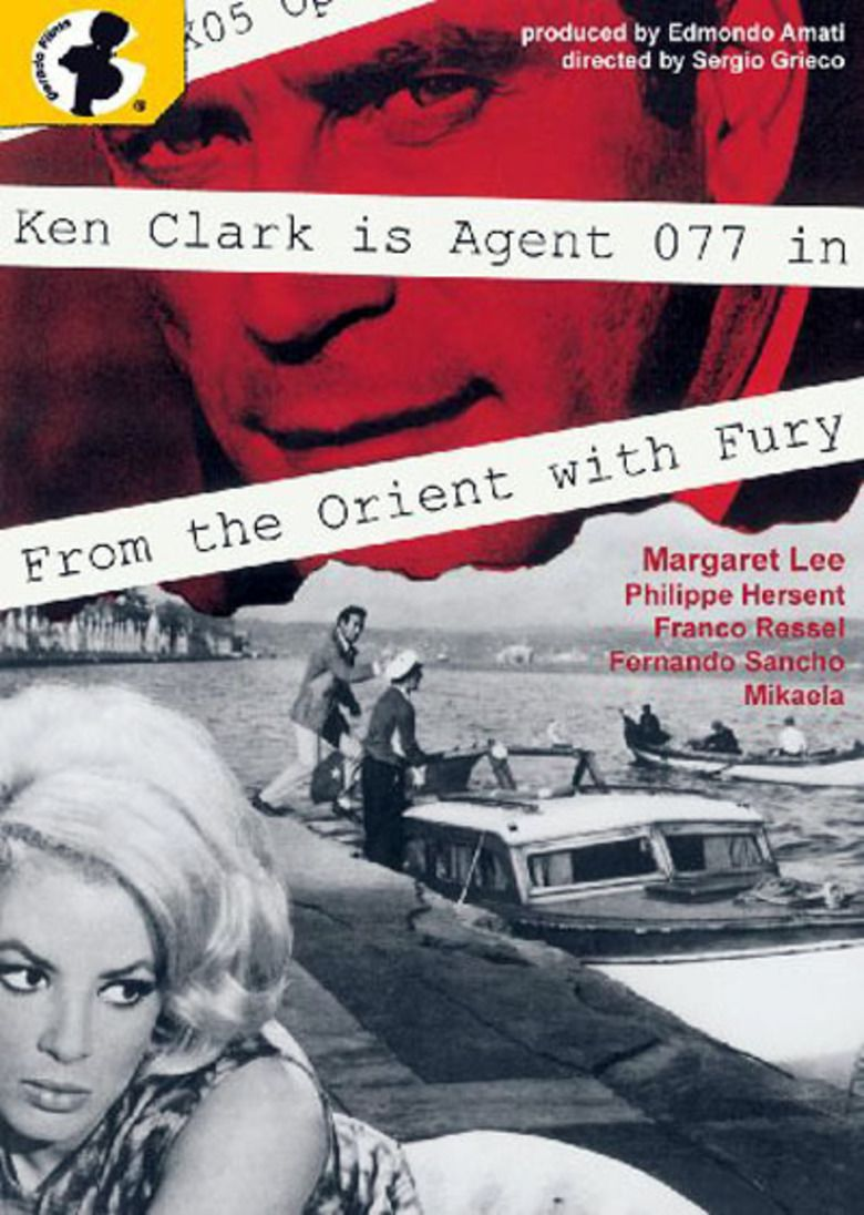 Agent 077: From the Orient with Fury movie poster