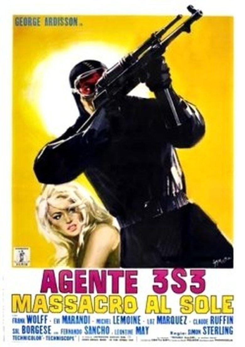 Agent 3S3, Massacre in the Sun movie poster