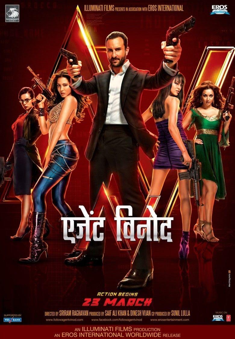 Agent Vinod (2012 film) movie poster