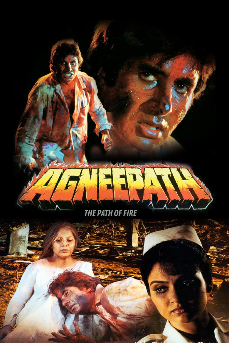 Agneepath (1990 film) movie poster