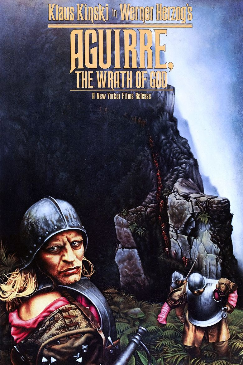 Aguirre, the Wrath of God movie poster