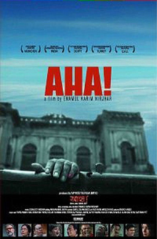 Aha! (film) movie poster