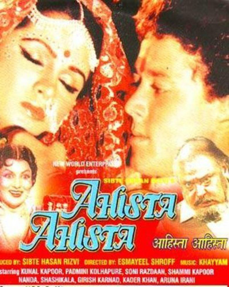 Ahista Ahista (1981 film) movie poster