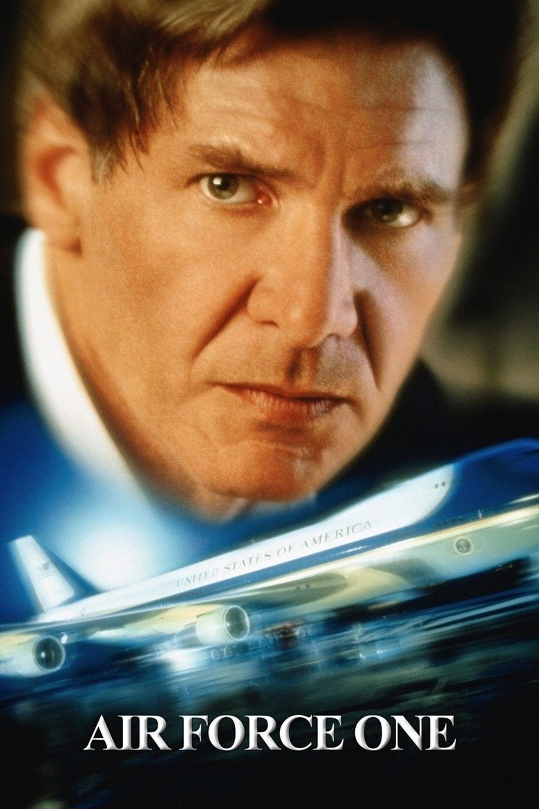 Air Force One (film) movie poster