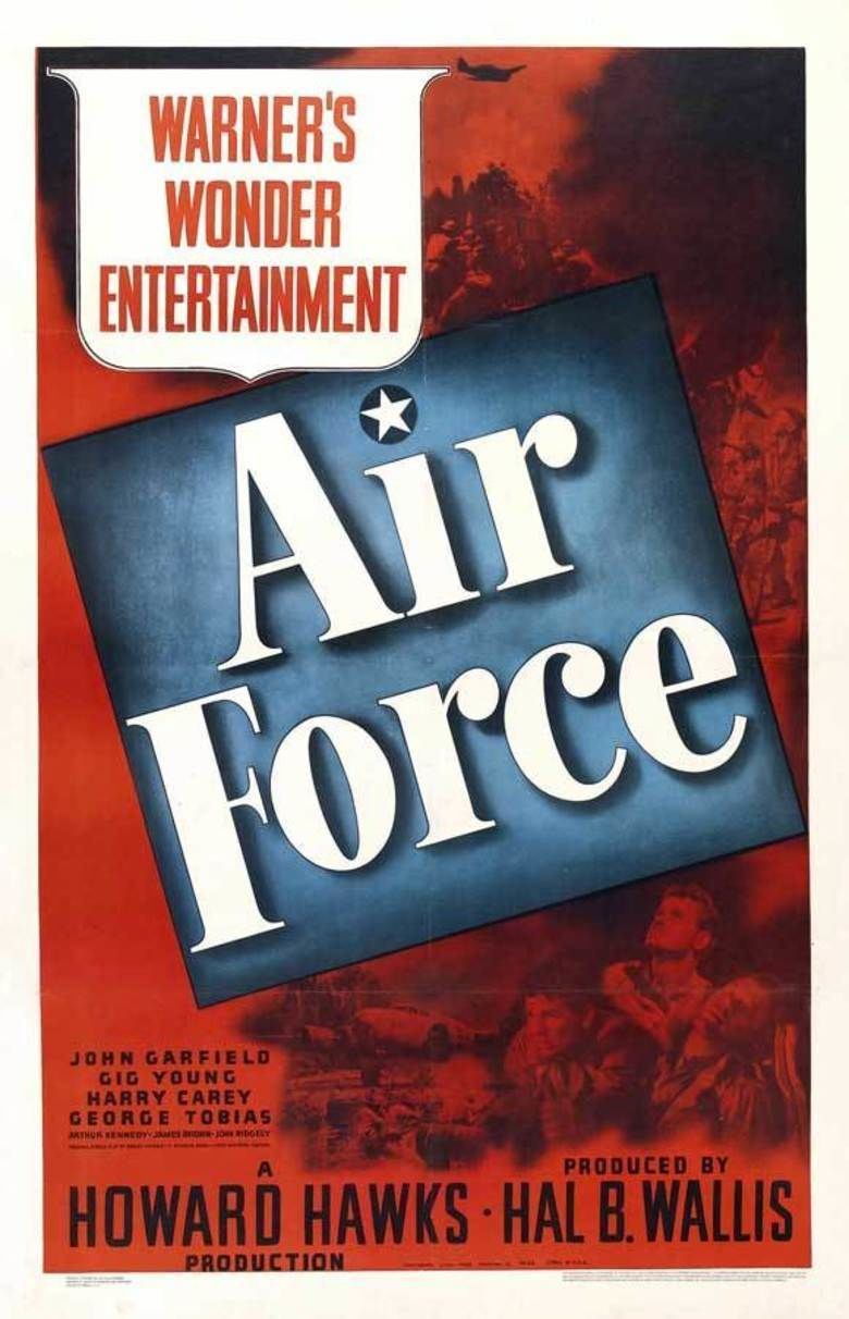 Air Force (film) movie poster