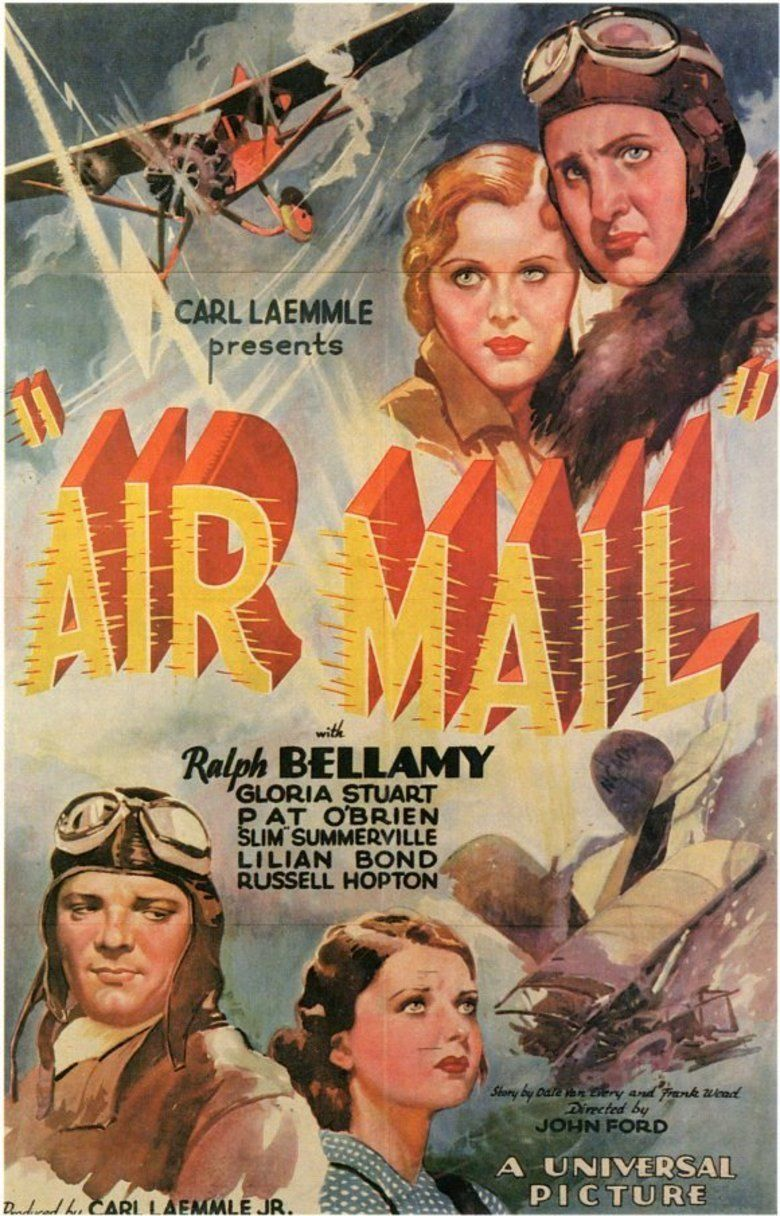 Air Mail (film) movie poster