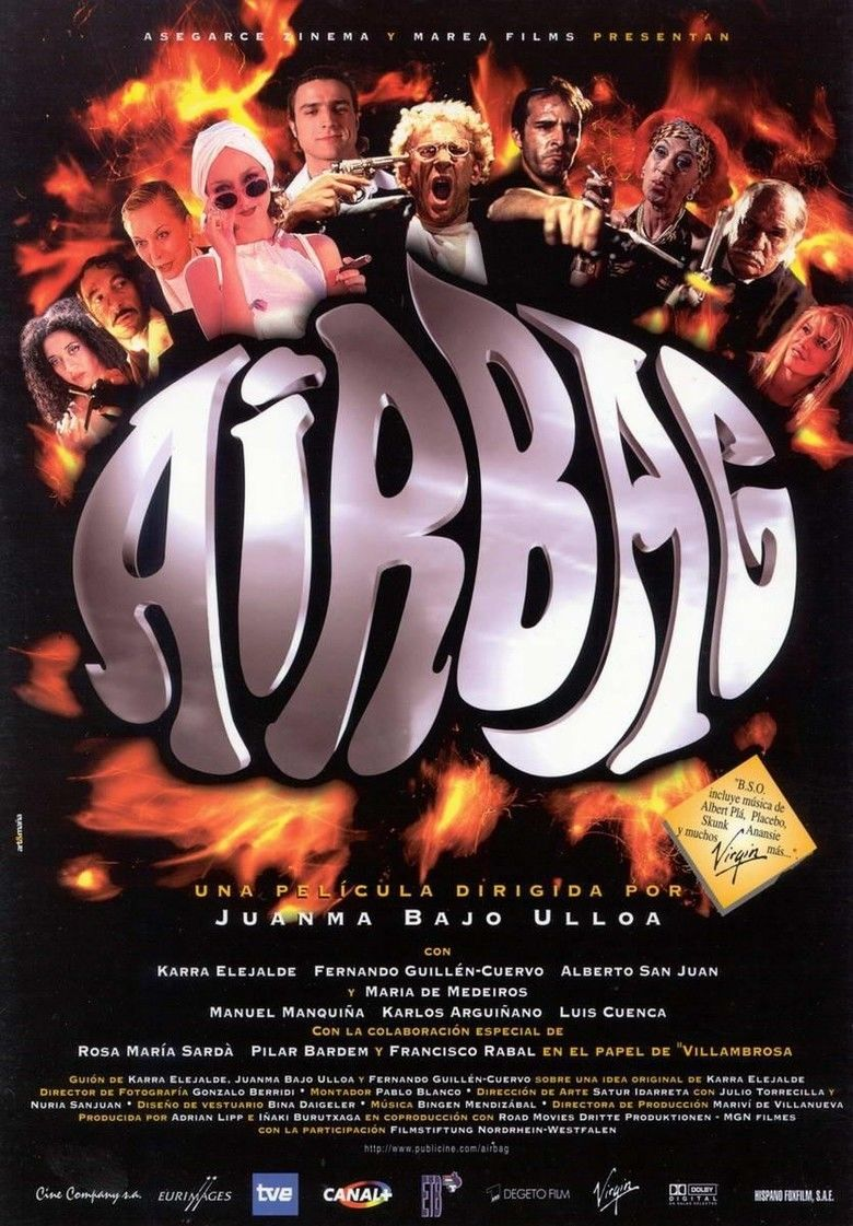 Airbag (film) movie poster