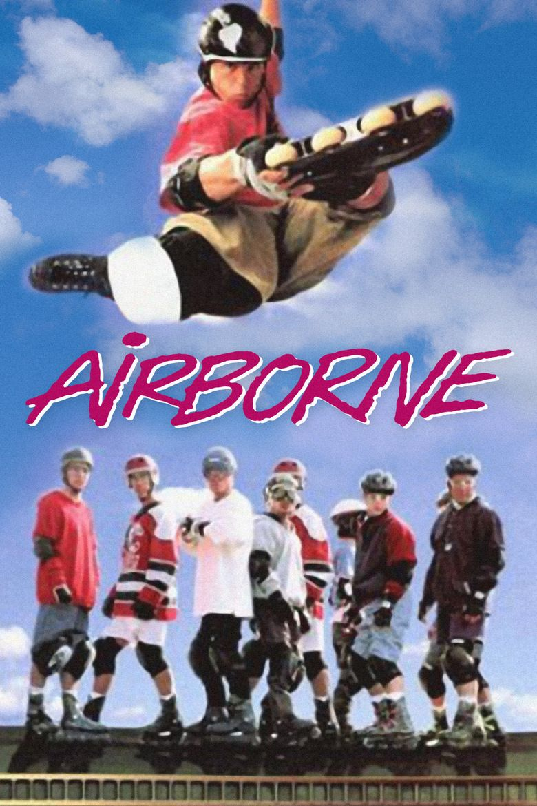 Airborne (1993 film) movie poster