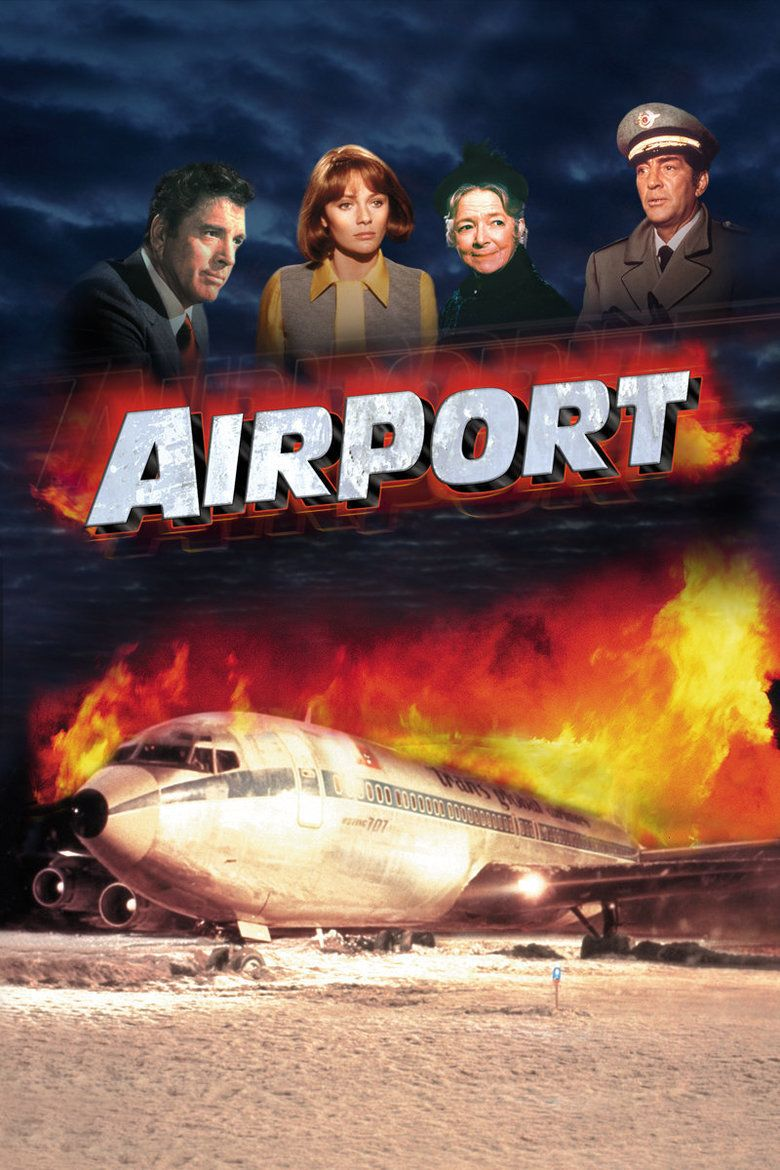 Airport (1970 film) movie poster