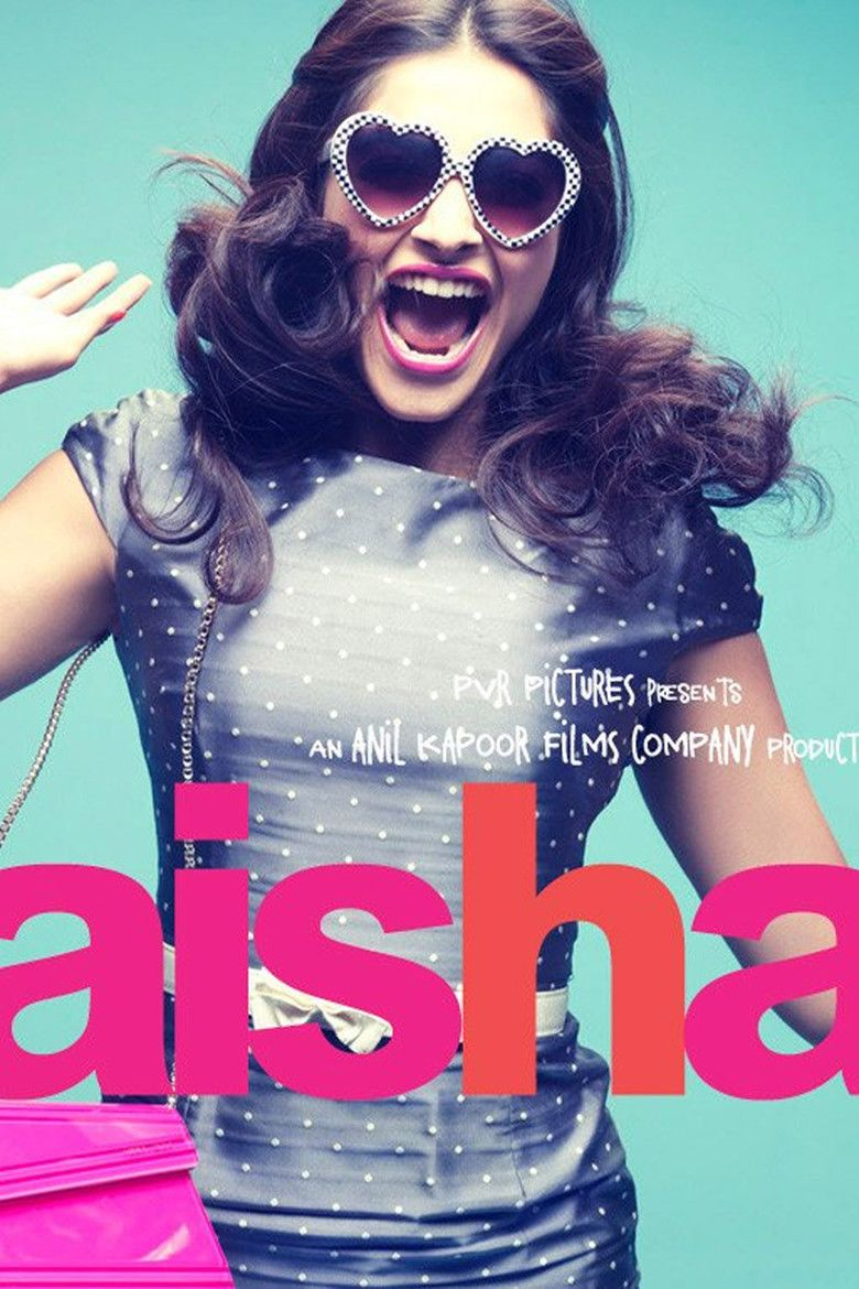 Aisha (film) movie poster