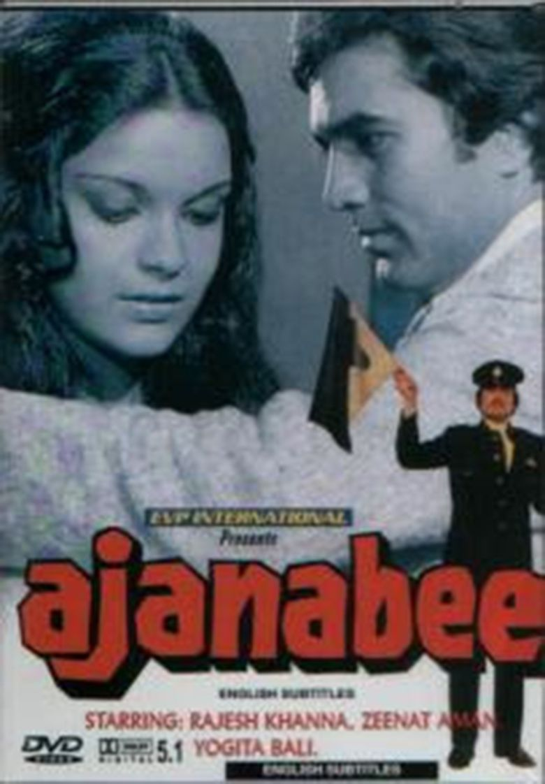 Ajnabee (1974 film) movie poster