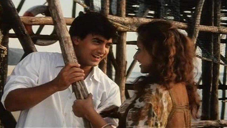 Akele Hum Akele Tum movie scenes