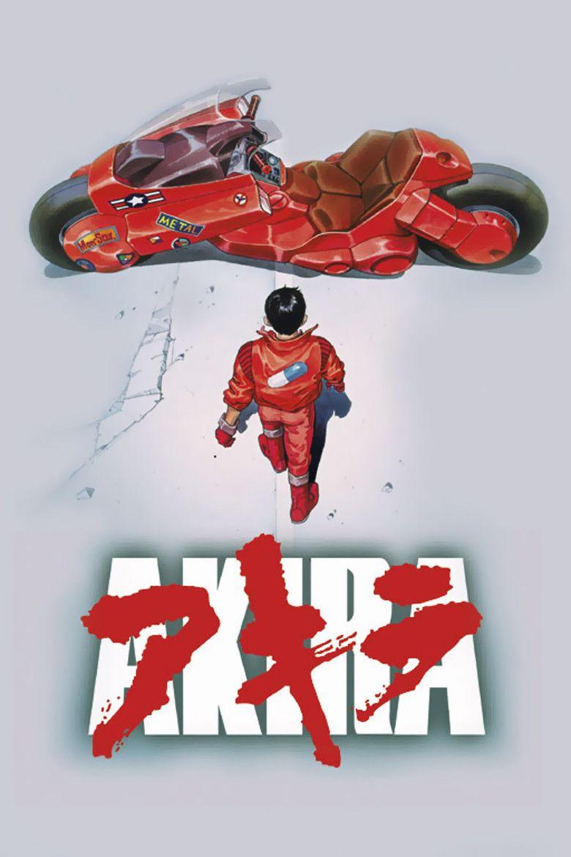 Akira (film) movie poster