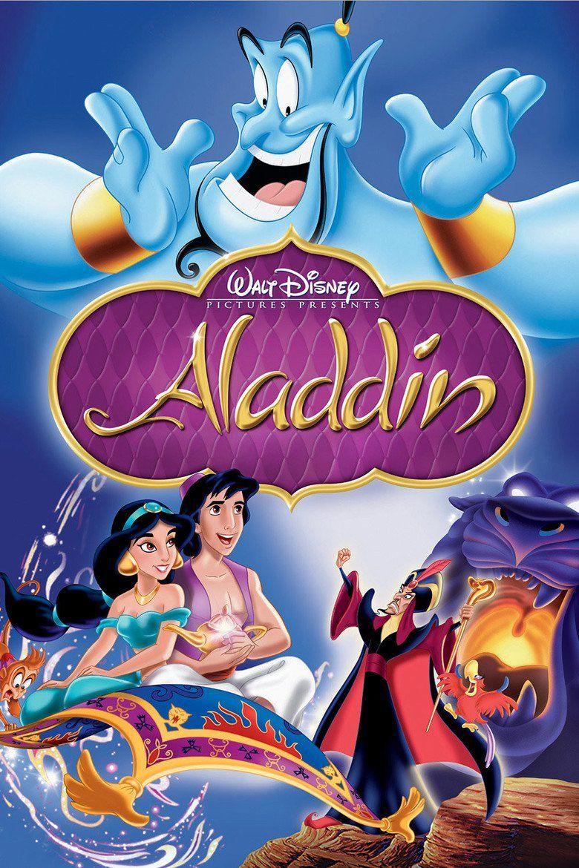 Aladdin (1992 Disney film) movie poster