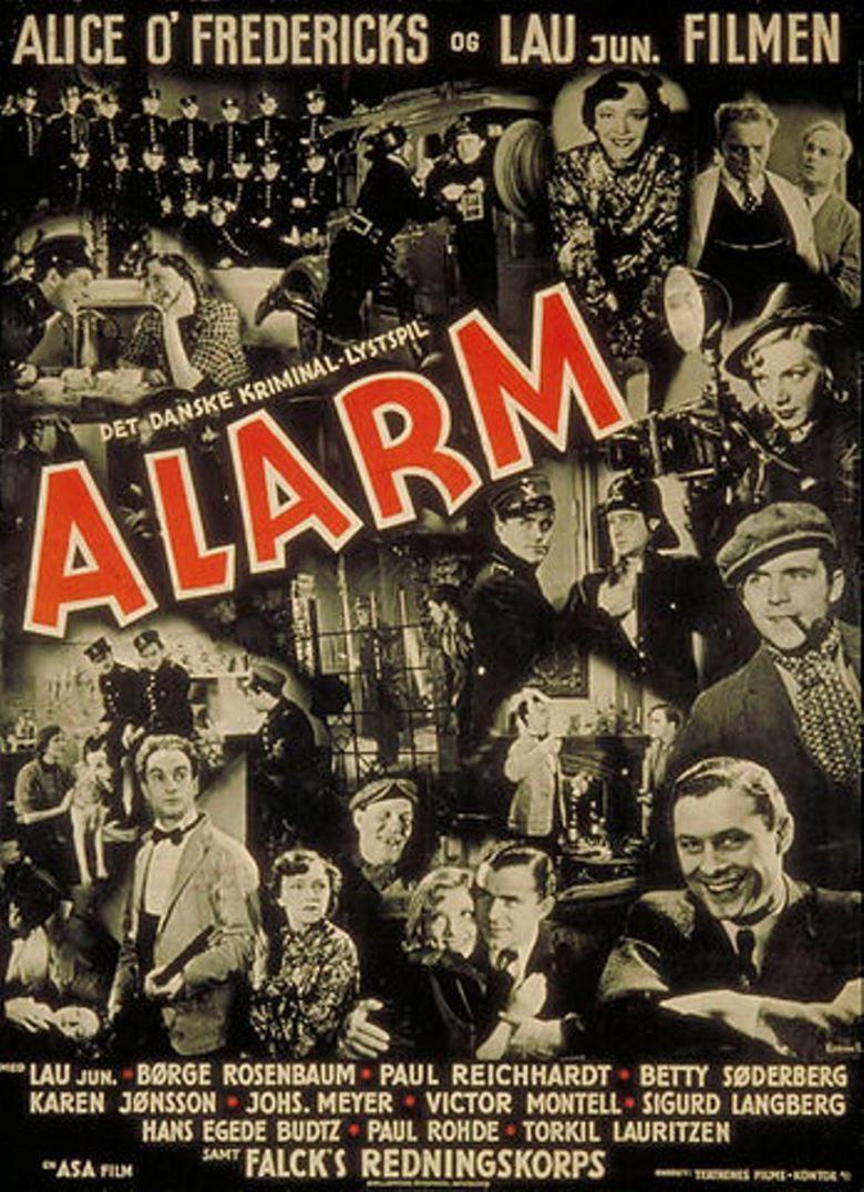 Alarm (1938 film) movie poster