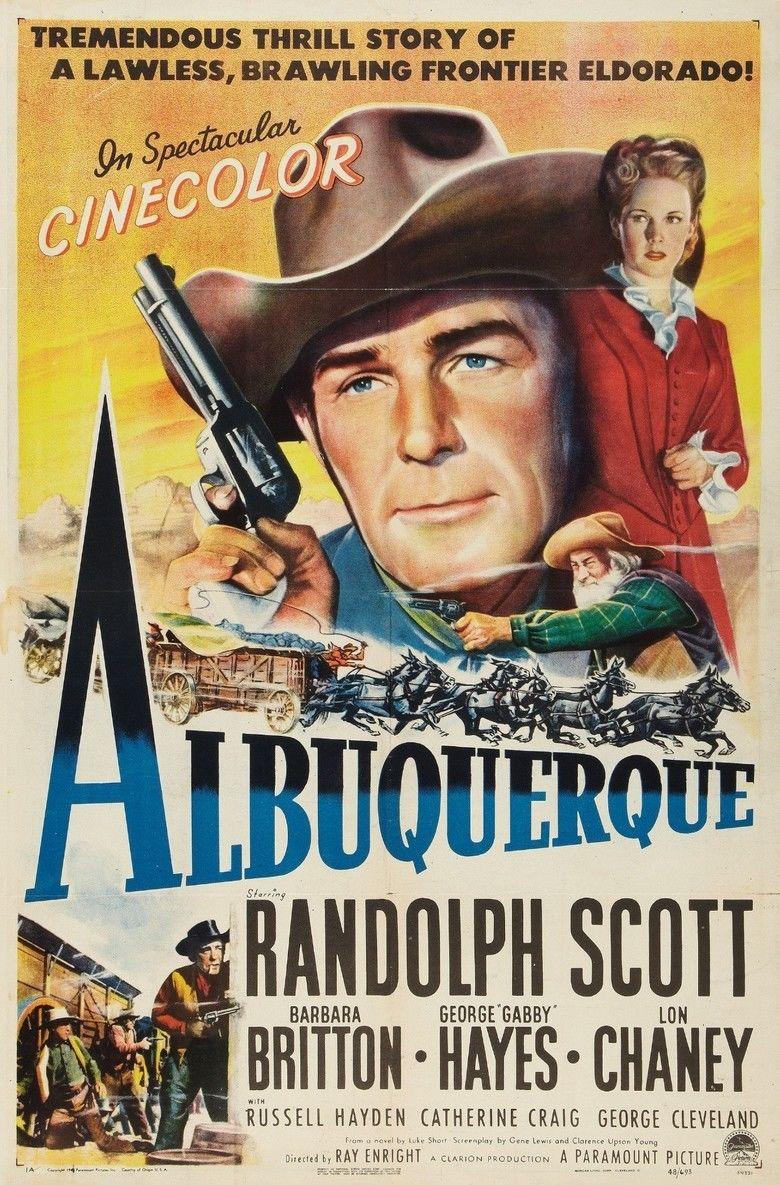 Albuquerque (film) movie poster