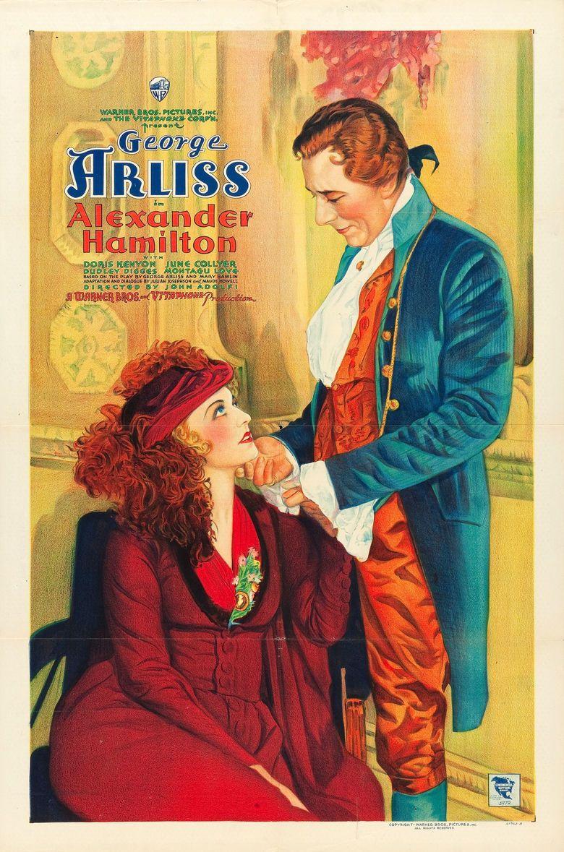Alexander Hamilton (film) movie poster