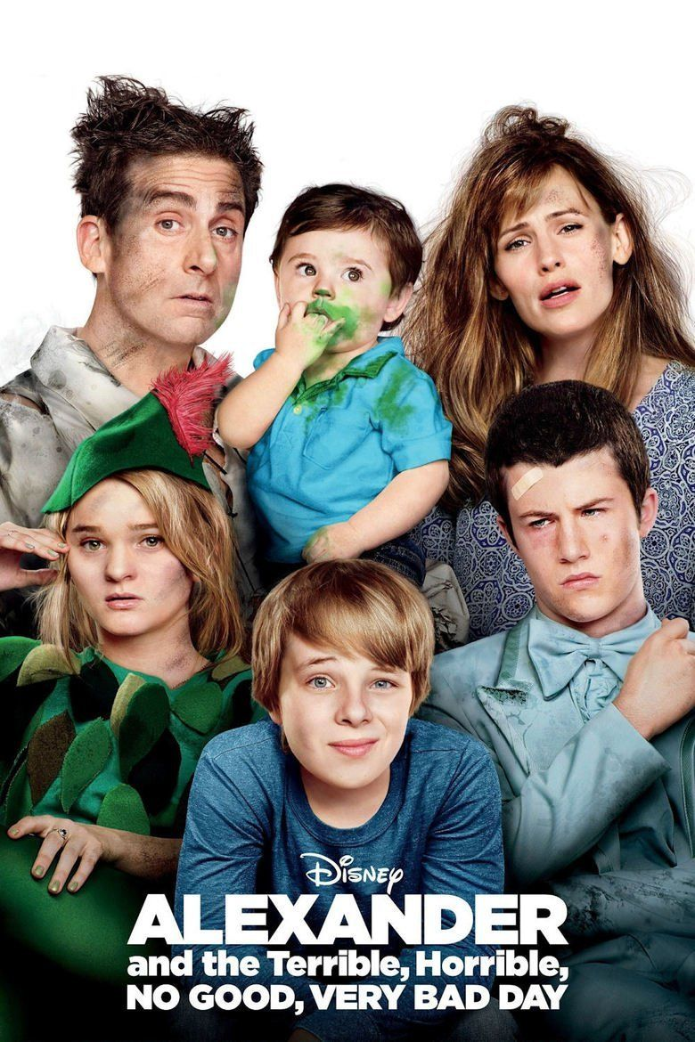 Alexander and the Terrible, Horrible, No Good, Very Bad Day (film) movie poster
