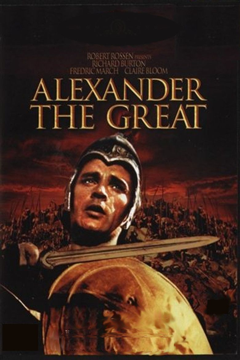Alexander the Great (1956 film) movie poster