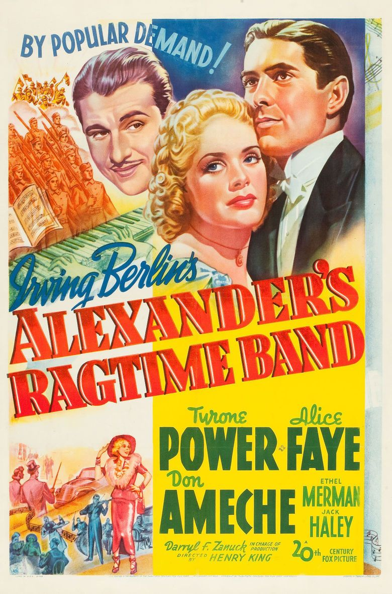 Alexanders Ragtime Band (film) movie poster