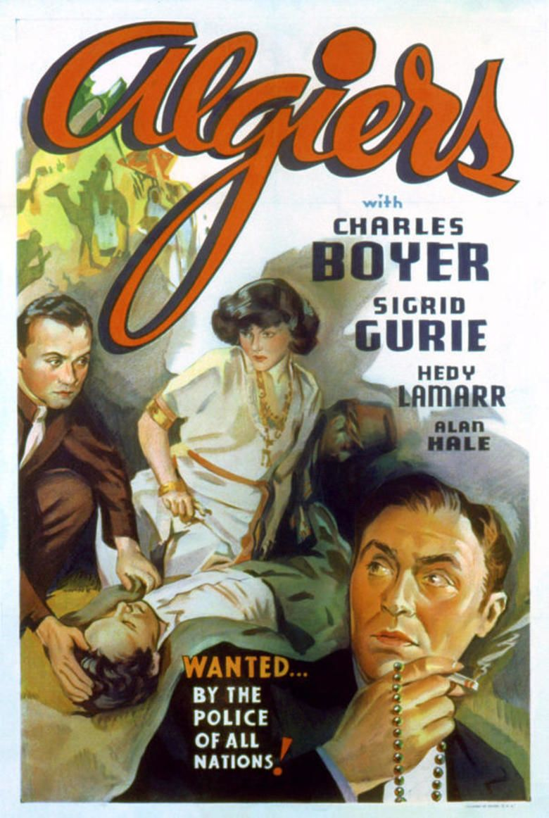 Algiers (film) movie poster