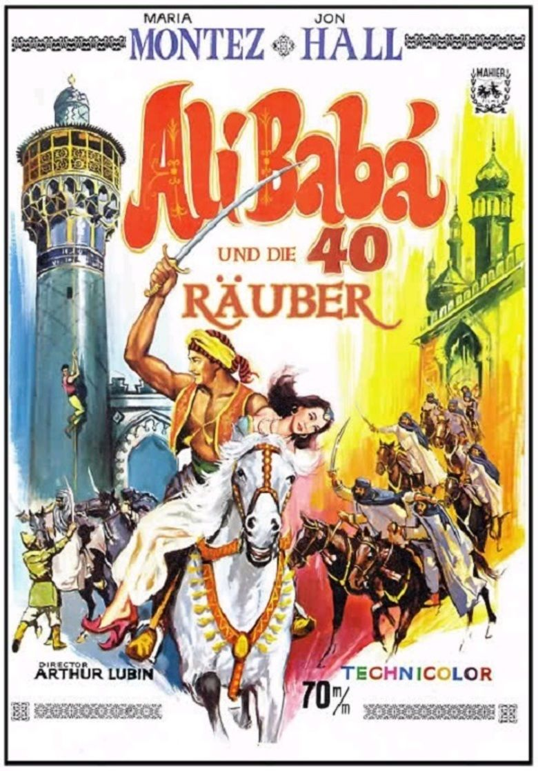Ali Baba and the Forty Thieves (1944 film) movie poster