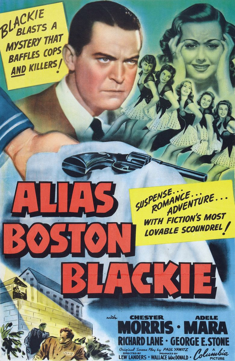 Alias Boston Blackie movie poster