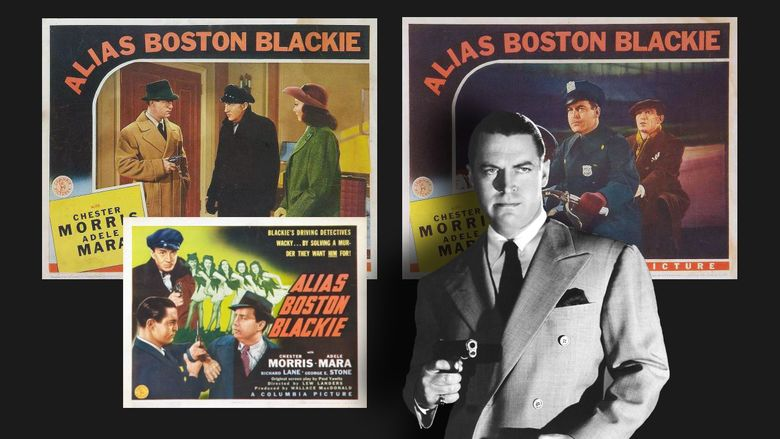 Alias Boston Blackie movie scenes