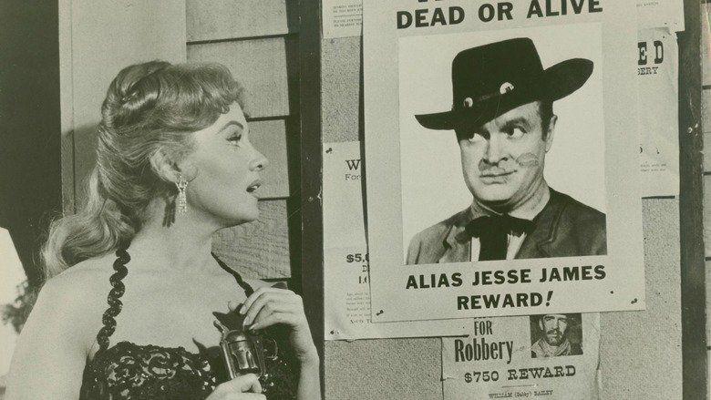 Alias Jesse James movie scenes