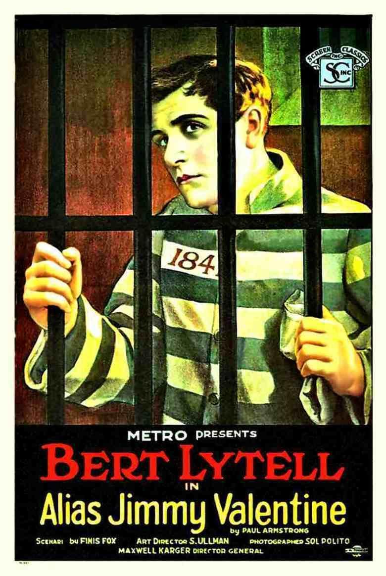 Alias Jimmy Valentine (1920 film) movie poster
