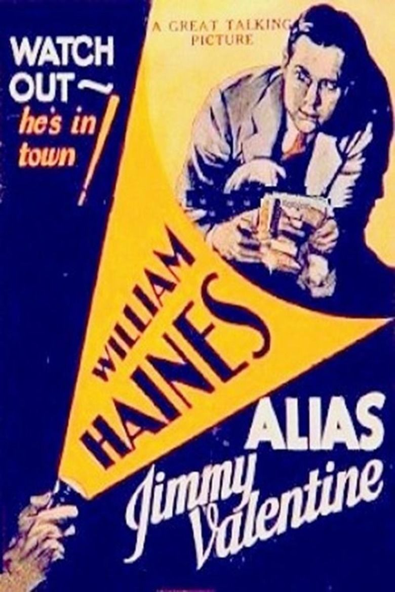 Alias Jimmy Valentine movie poster