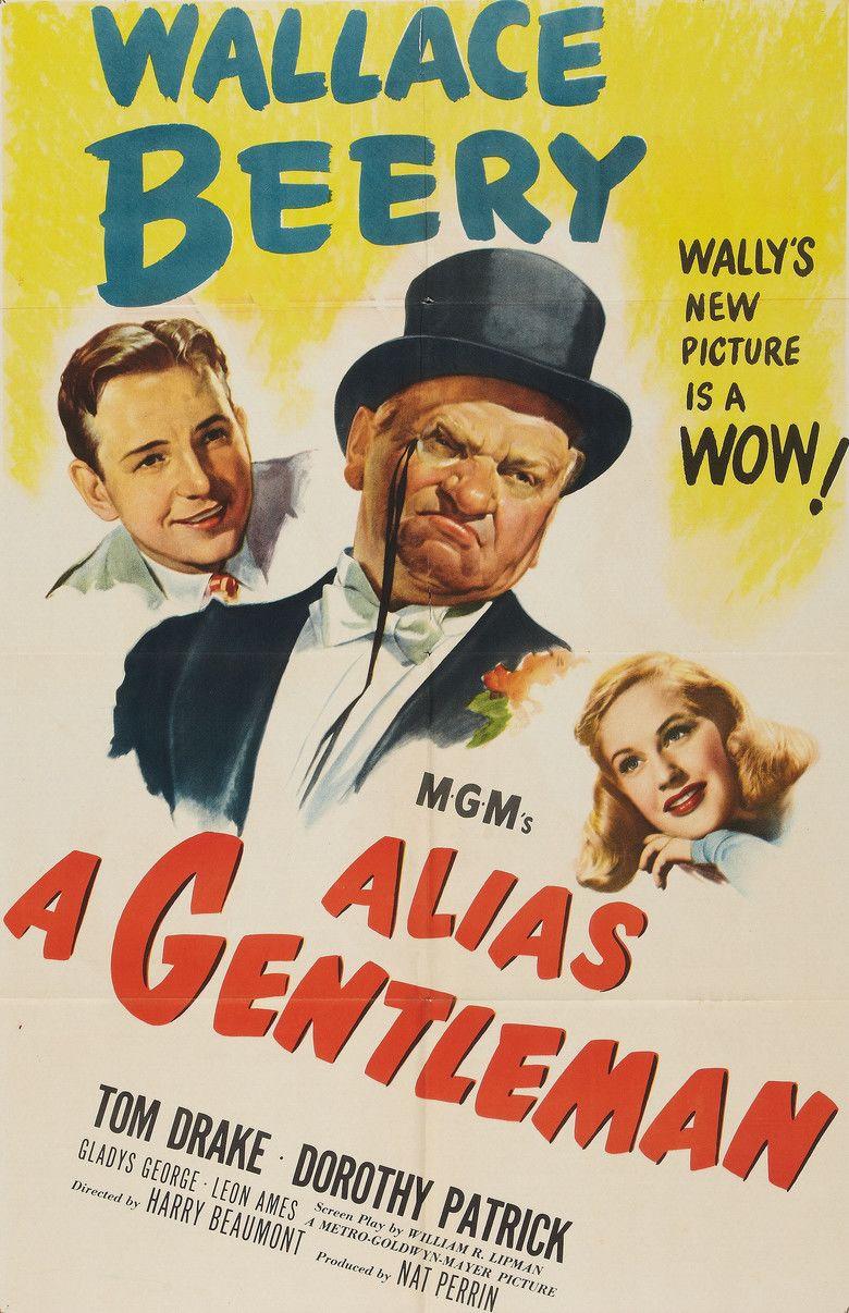 Alias a Gentleman movie poster
