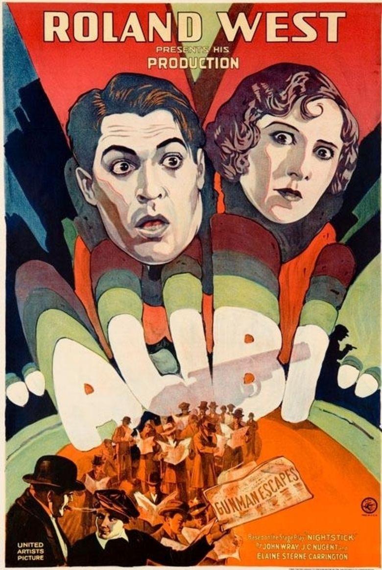 Alibi (1929 film) movie poster