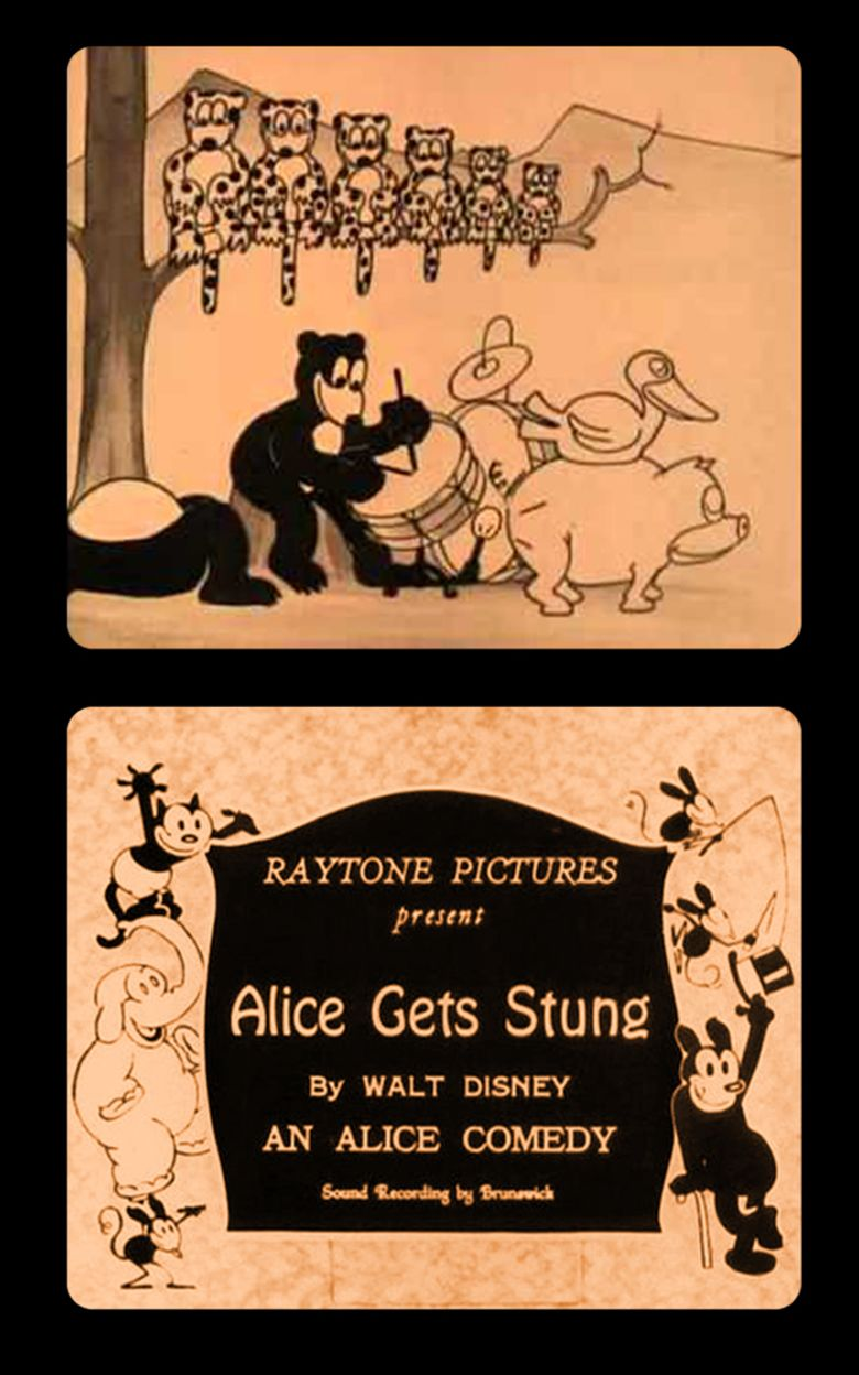 Alice Gets Stung movie poster