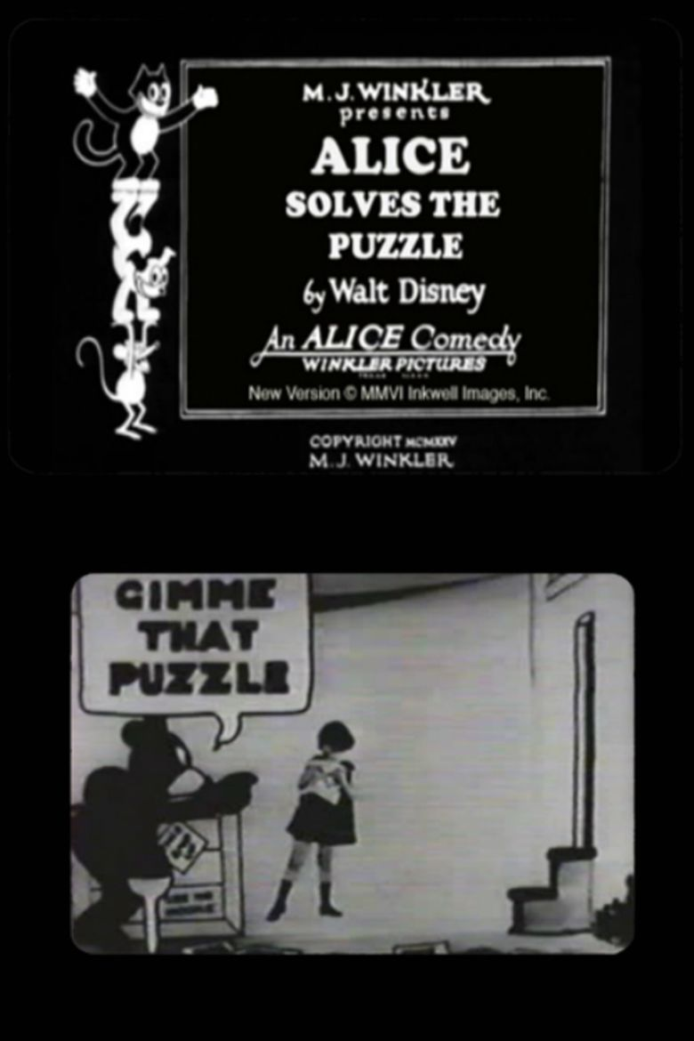 Alice Solves the Puzzle movie poster