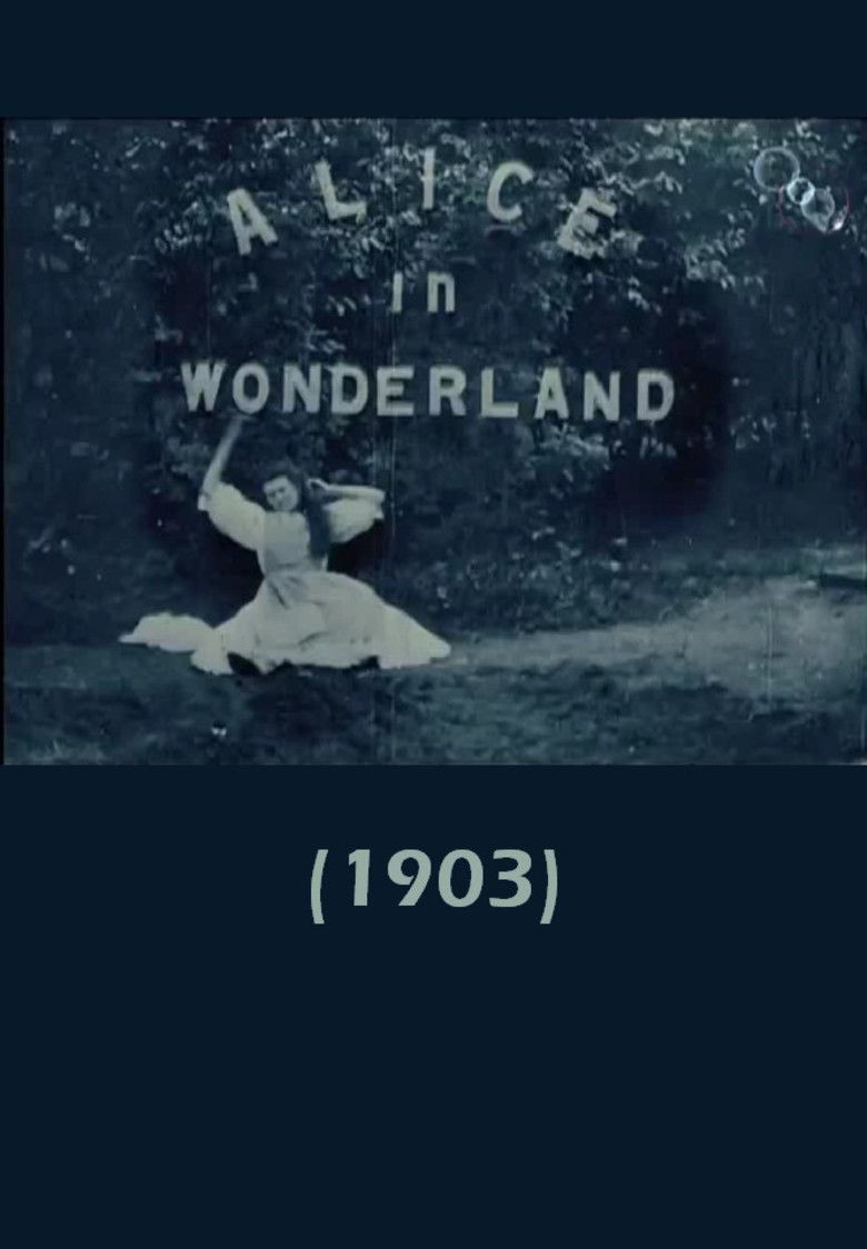 Alice in Wonderland (1903 film) movie poster
