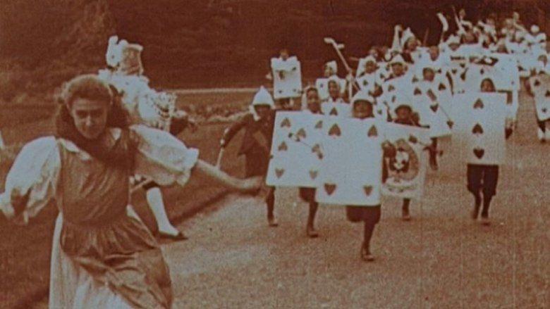 Alice in Wonderland (1903 film) movie scenes