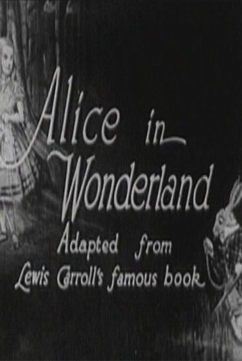 Alice in Wonderland (1915 film) movie poster