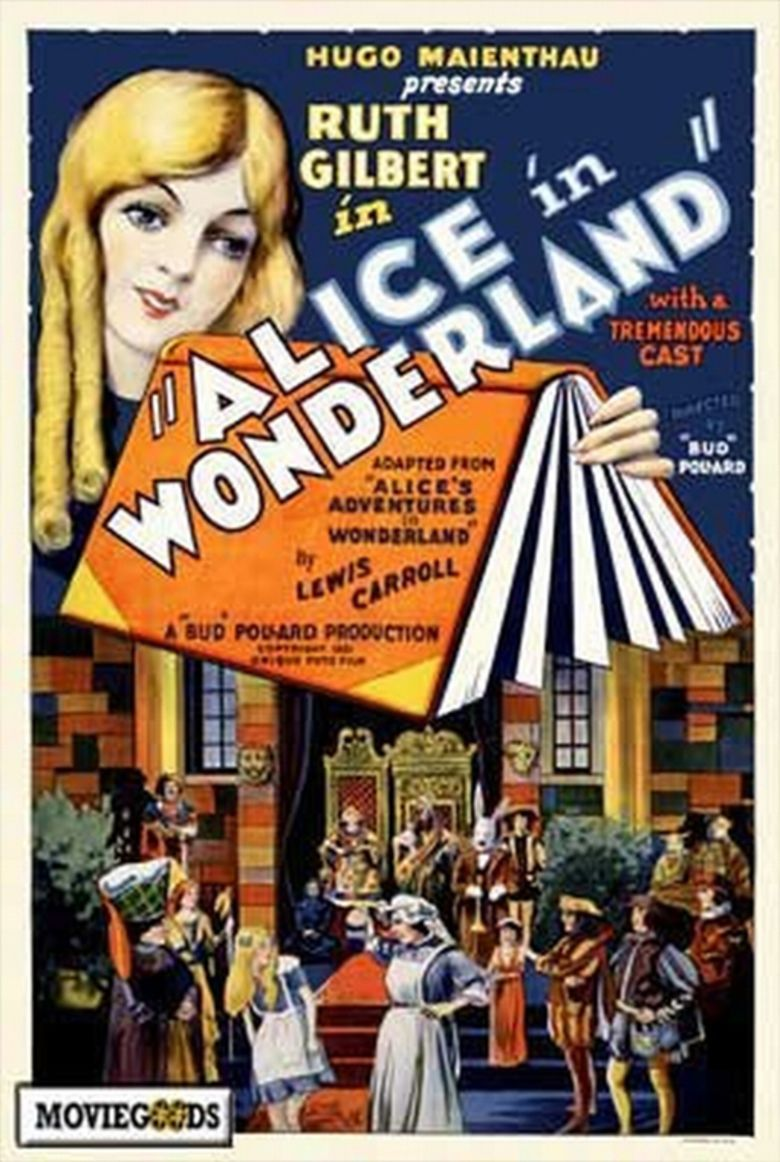 Alice in Wonderland (1931 film) movie poster