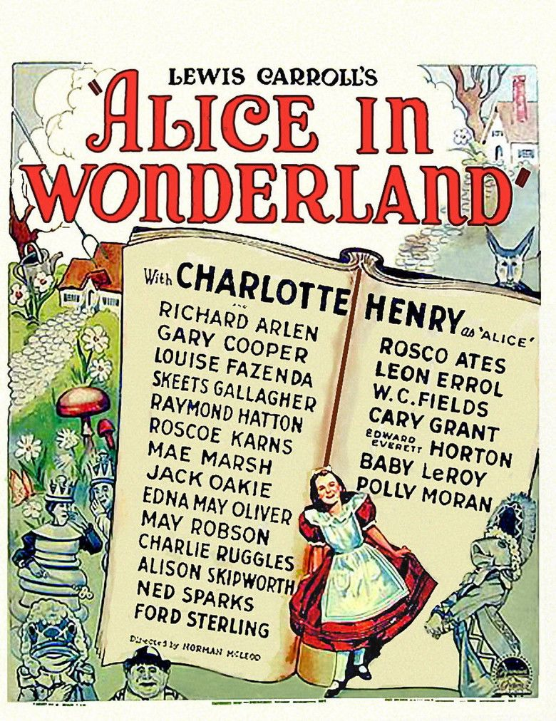 Alice in Wonderland (1933 film) movie poster