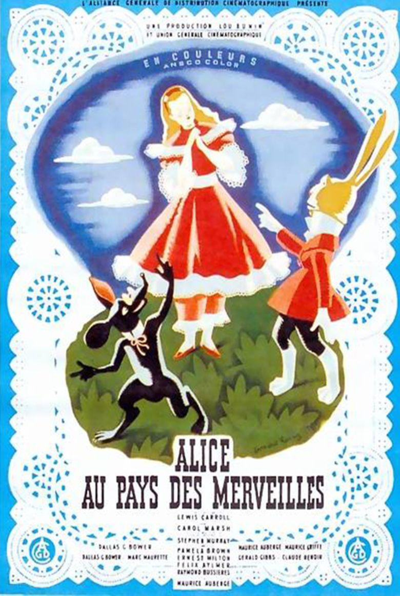 Alice in Wonderland (1949 film) movie poster